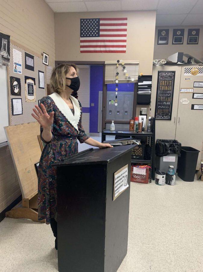 Amy Holland, Speech and Debate Teacher at FGHS
