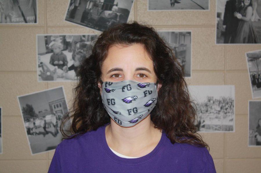 Mrs. Beller, an English teacher at FGHS.
