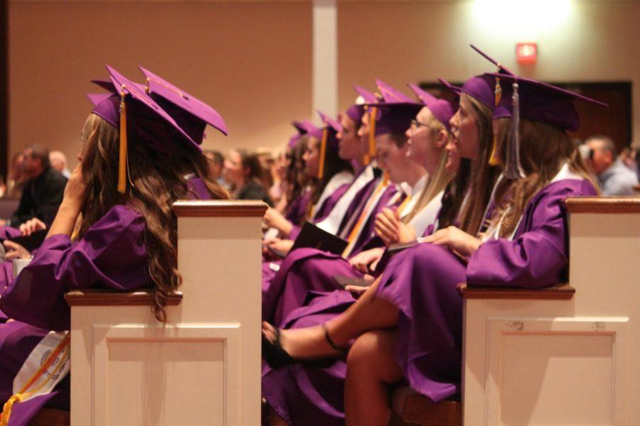 Photo of the Fair Grove 2016 graduation ceremony.