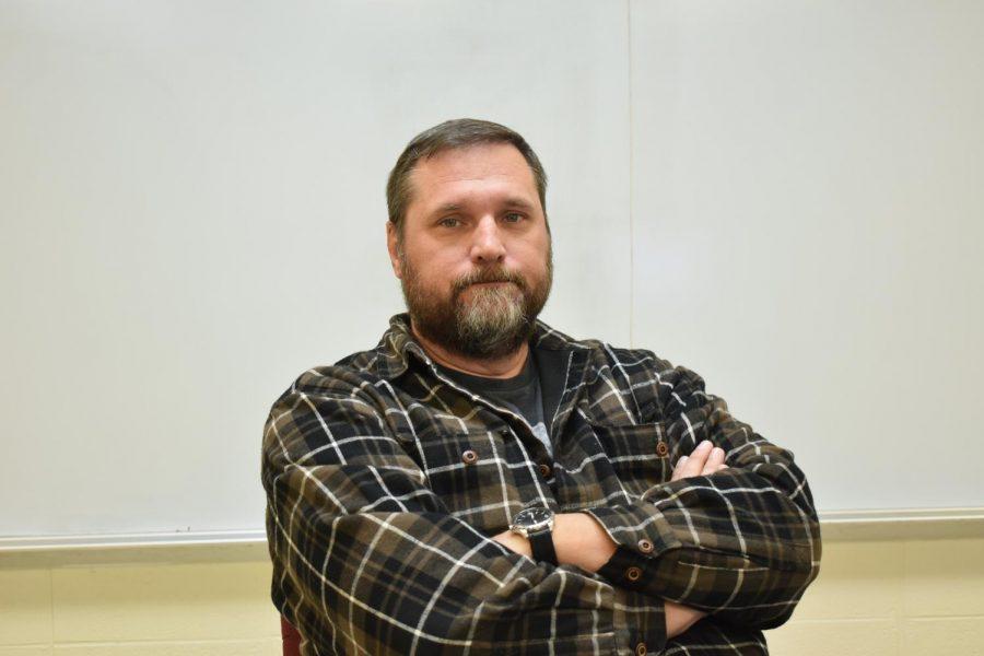 Mr. Foster, science teacher at Fair Grove High School.